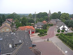 Garderen - Garderen seen from De Hoop windmill