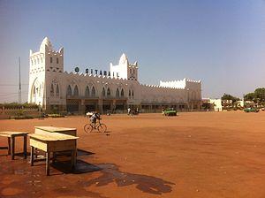 Rail transport in Burkina Faso - Bobo-Dioulasso station