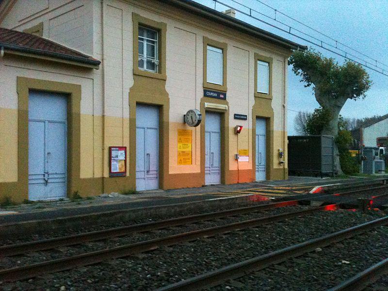 Gare SNCF desservant la Ville de Coursan
