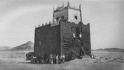 One of the forts of the Majeerteen Sultanate in Hafun (early 1900s).