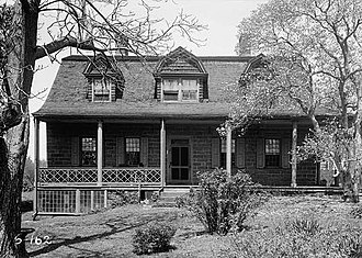 Englewood, New Jersey - The Garret Lydecker House was built in 1808.