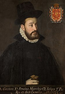 Gastón de Peralta, 3rd Marquess of Falces Spanish noble