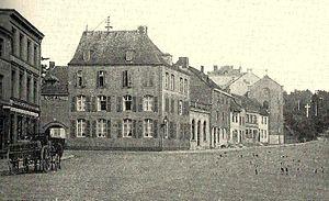 Eupen-Malmedy - View of Eupen in 1900 when the territory was under German rule