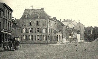 Eupen-Malmedy - View of Eupen in 1900 when the territory was under German rule