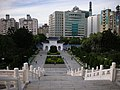 Gate of Great Loyalty and Chunghwa Telecom headquarters 20080805a.jpg