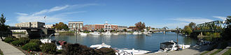 Tonawanda (city), New York - Gateway Harbor Panorama