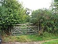 Gateway to Footpath. - geograph.org.uk - 562945.jpg