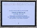 Gedenktafel Unter den Eichen 104a Ewald Wenck.JPG