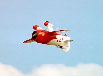 Gee Bee Model R - Gee Bee R2 replica flown by Delmar Benjamin at Oshkosh 2001