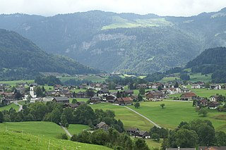 Andelsbuch Place in Vorarlberg, Austria