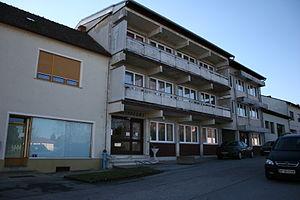 Nickelsdorf - Image: Gemeindeamt Nickelsdorf