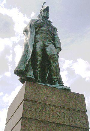 George Armistead - Statue of Armistead at Fort McHenry