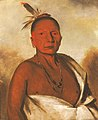 George Catlin - Kid-á-day, a Distinguished Brave - 1985.66.57 - Smithsonian American Art Museum.jpg