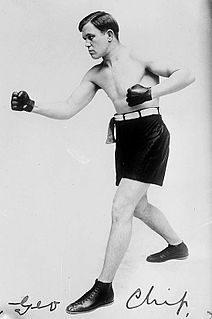 George Chip American boxer