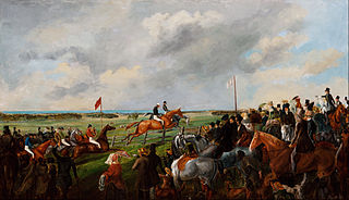 The first steeplechase in South Australia, 25 September 1846