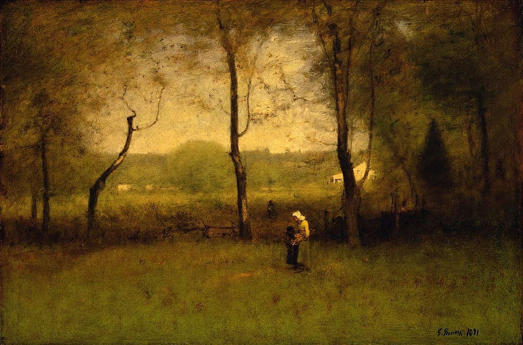 File George Inness Wood Gatherers An Autumn Afternoon
