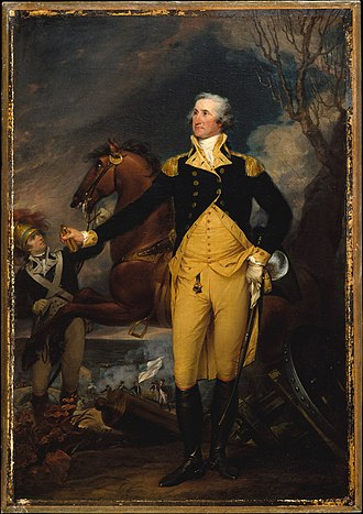 General George Washington at Trenton - Image: George Washington before the Battle of Trenton by John Trumbull at The Met