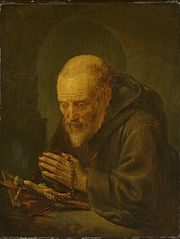 A Hermit in Prayer