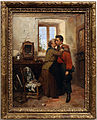 Gerolamo induno, la partenza del garibaldino, 1860.JPG