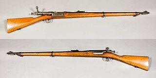 Krag–Jørgensen Norwegian bolt action rifle