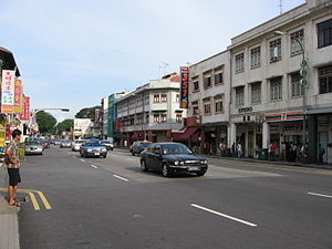 Geylang Road was one of the earliest roads bui...