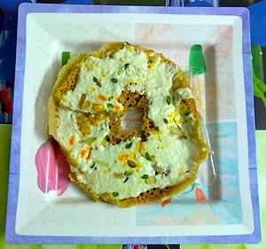 Ghevar - Image: Ghevar Rajasthani Sweet