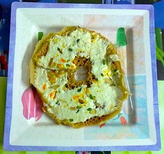 Sonipat - A cake of ghevar