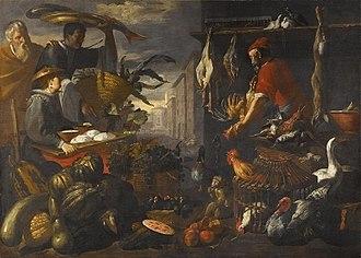 Giacomo Legi - Image: Giacomo Legi A market scene