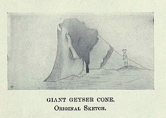 Giant Geyser - Image: Giant Geyser Original Sketch