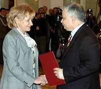 Gilowska Kaczynski