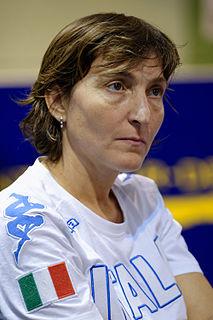 Giovanna Trillini fencer
