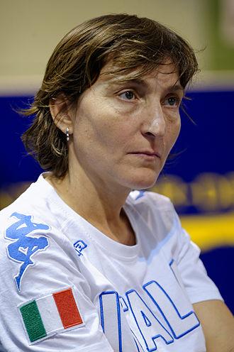 Giovanna Trillini - Giovanna Trillini in 2015