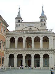כנסיית יוחנן -חזית-רומא