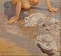 Giulio aristide sartorio, sull spiaggia, 1926 (roma, berardi gall. d'arte) 02 meduse.jpg