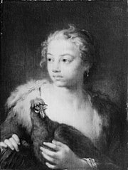 A Girl with a Chicken