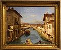 Giuseppe canella, veduta del canale naviglio presa sul ponte di san marco, 1834.JPG