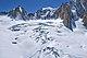 Glacier du Mont Mallet (Glacier du Géant) & Mont Blanc, 2010 July.jpg