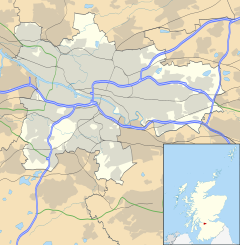 Finnieston is located in Glasgow council area