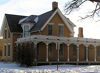 National Register of Historic Places listings in Marshall County, Iowa - Image: Glick Sower House