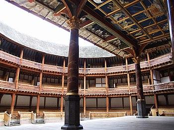 Globe Theater, interior, replica