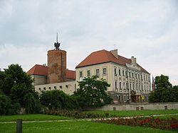 Zamek ksi���t g�ogowskich w G�ogowie