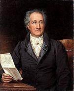 Goethe à l âge de 70 ans (Joseph Karl Stieler, 1828)