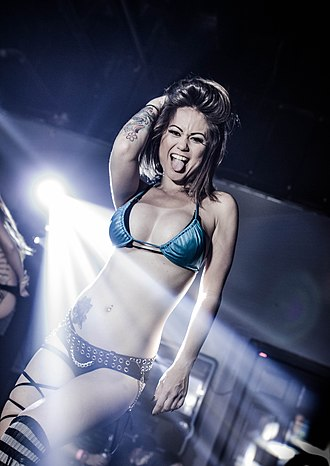 Go-go dancing - Go-go dancer Cherry Lei