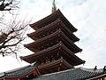 Gojunotou in Sensouji, Asakusa - panoramio - Takuya Ichihara.jpg