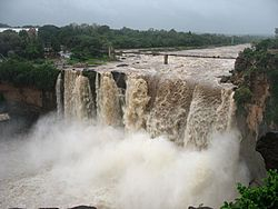 Gokak Falls in Belagavi district