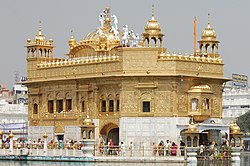 Golden Temple (Harmandir Sahib) in Amritsar, India.jpg