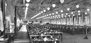 Goodyear Hall-Ohio Savings and Trust Company - Goodyear Hall cafeteria
