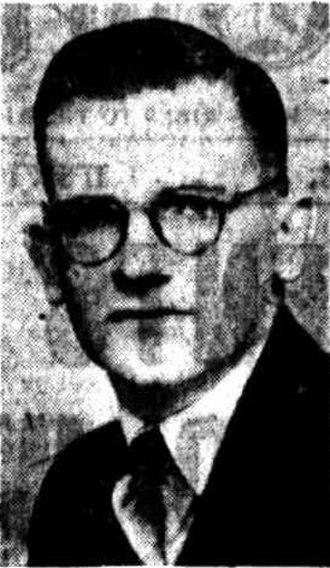 Gordon Chalk - Image: Gordon Chalk, 1950