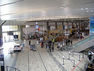 Göteborg Landvetter Airport - Main check-in hall