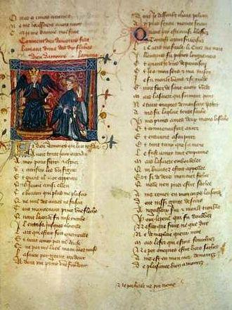 Claude Gouffier - Roman de la Rose, a 15th-century manuscript from the Gouffier's collection, Czartoryski Museum.
